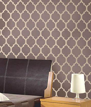 stencil for walls