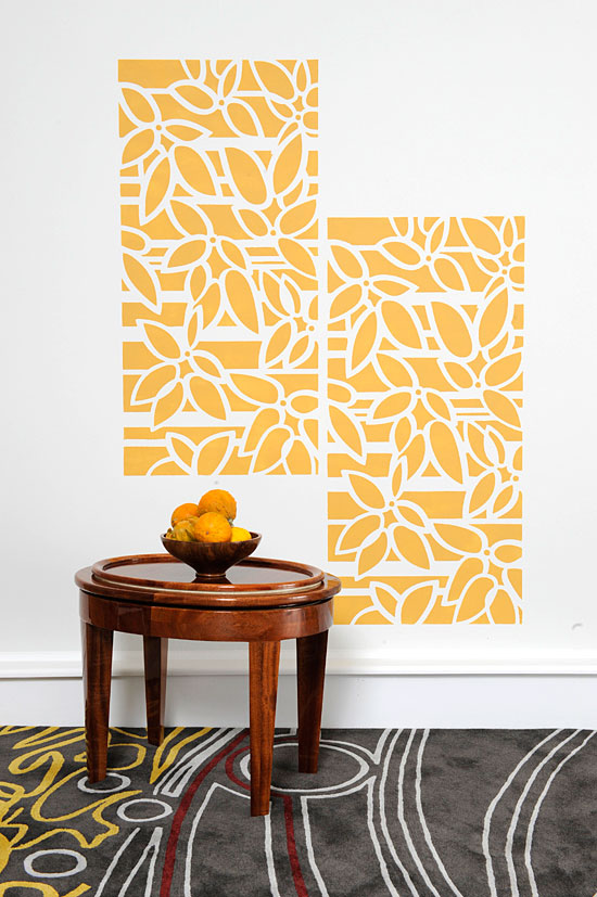 Roller stenciling tips: How to stencil with a roller