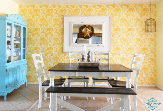Cutting Edge Stencils: Feature Walls, Feature You