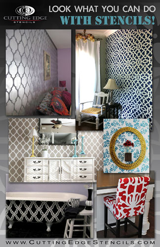 DIY stencil project possibilities