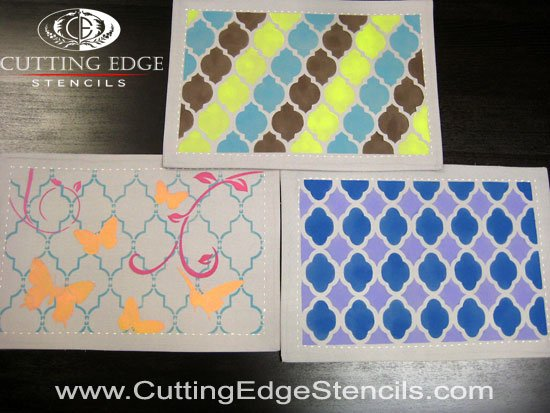 craft stencils for placemats