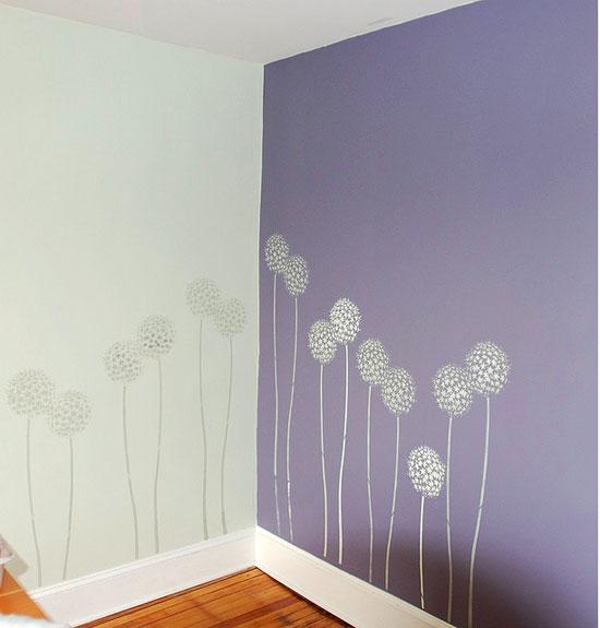 Allium Gladiator stencil