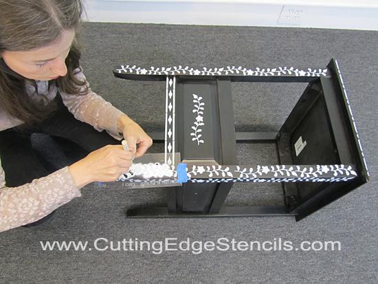 Furniture-Stenciling-Leg