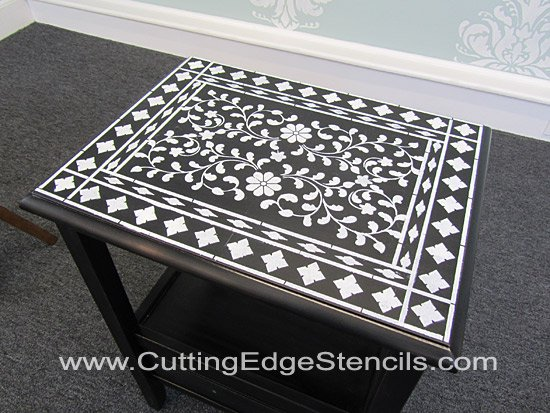 Indian-Inlay-Stencil-Top