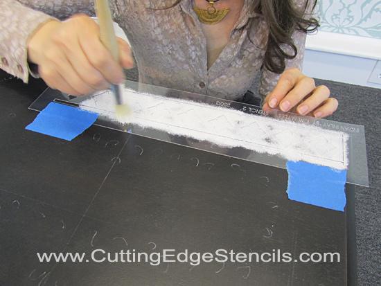 Indian-Inlay-Stenciling-Top