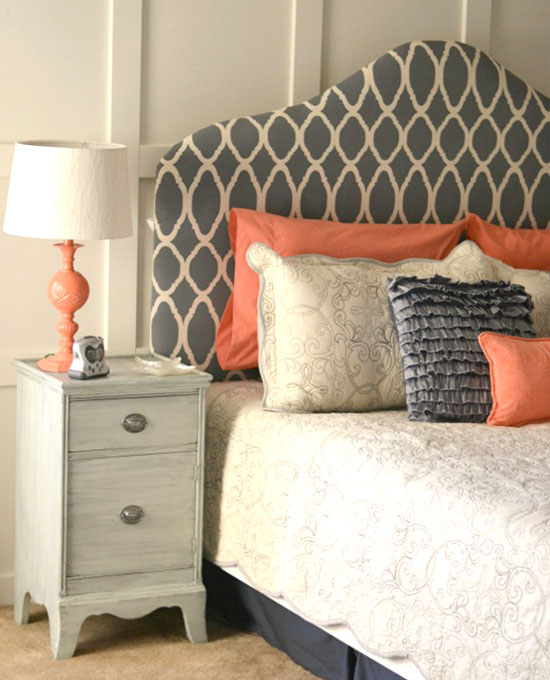 A Blog About Coastal Decor And Diy On A Budget: 10 Stunning DIY Home Decor Stencil Projects