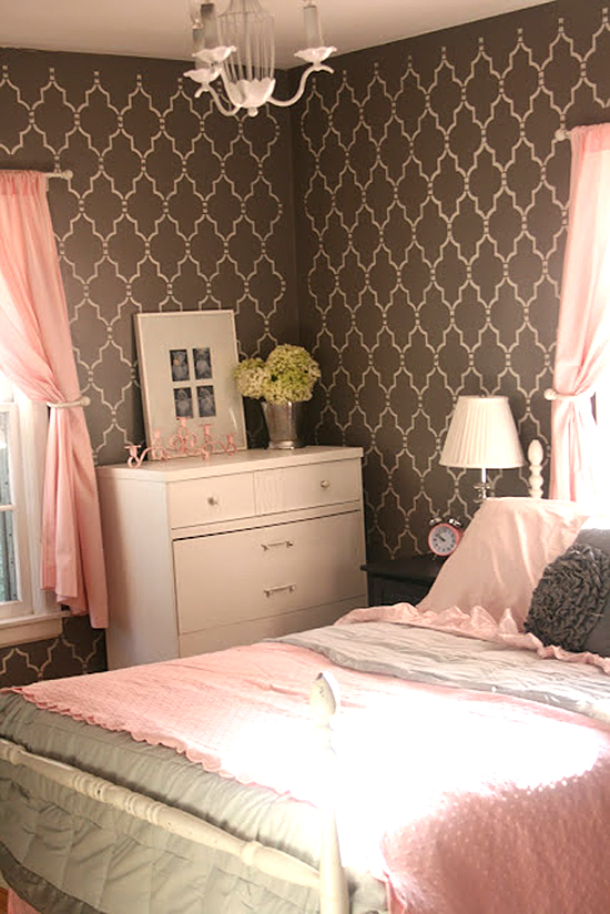 18 Diy Room Decor Ideas For Crafters: DIY Bedroom Ideas With Cutting Edge Stencils