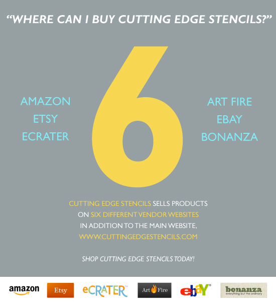 Cutting Edge Stencils Online Vendor Shops