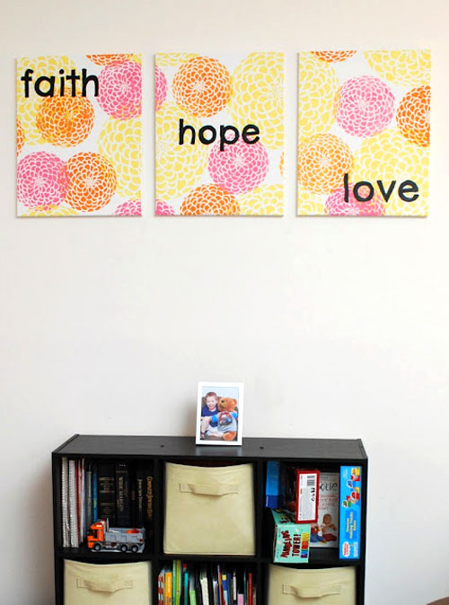 DIY Decorating Stencils