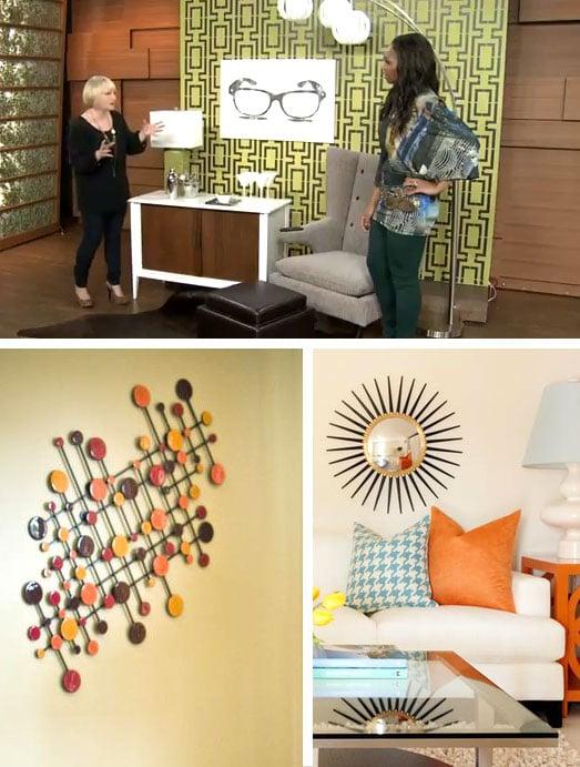 Stencils for midcentury modern home decor