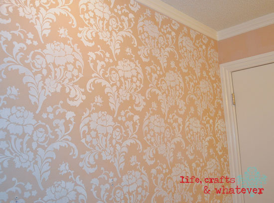 Gorgeous Julia Allover Stenciled Wall