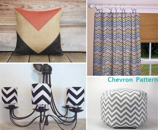Etsy Items with Chevron Pattern