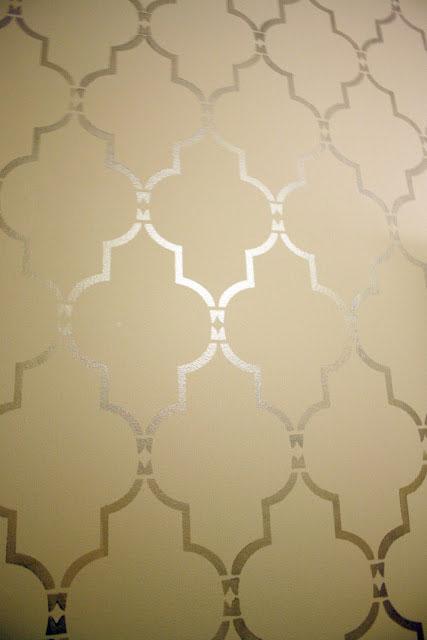 Marrakech Trellis Allover Stencil Design
