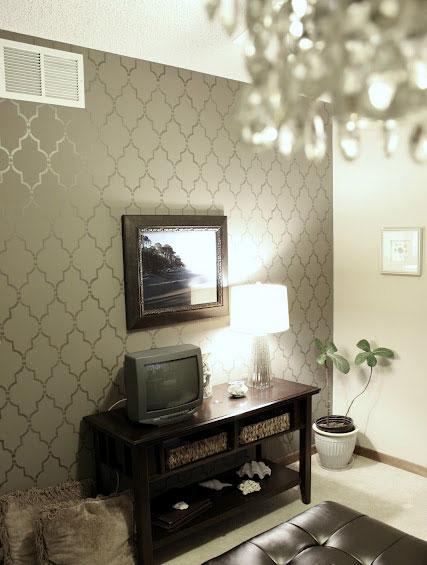 Gorgeous Marrakech Trellis Allover room design