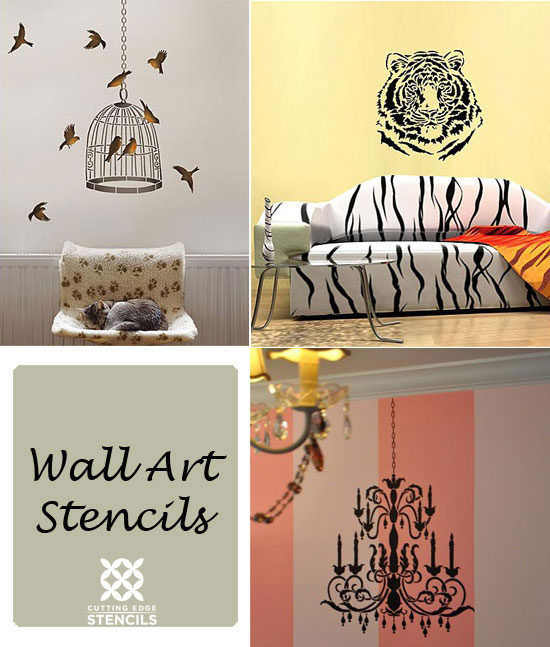 Designing your Rooms with Wall Art Stencils