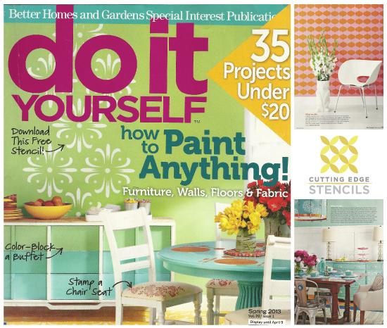 Diy Magazine diy magazine loves cutting edge stencils