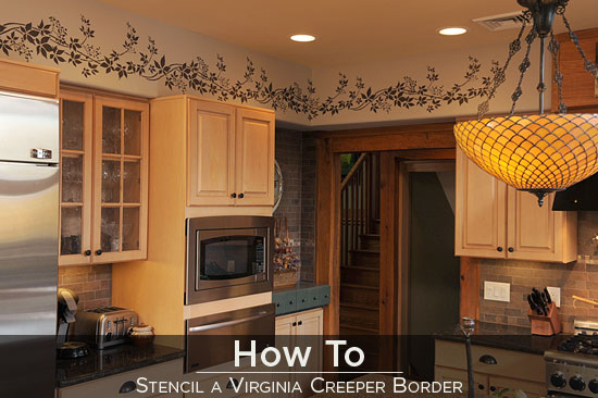 How To Video Stenciling A Border