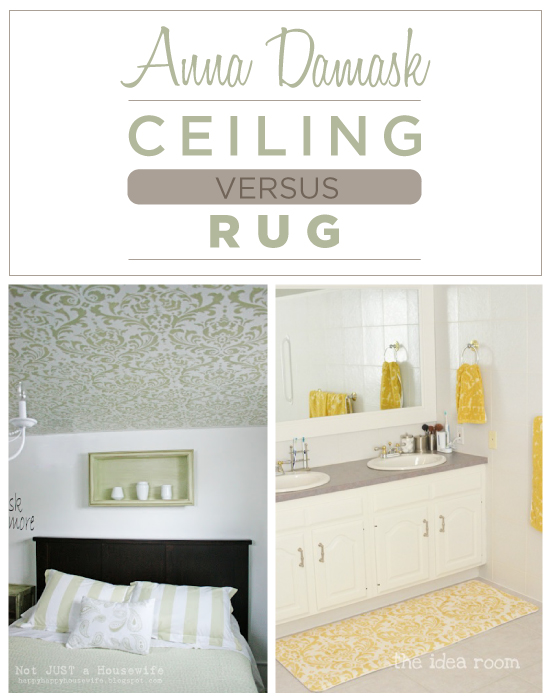 Which do you prefer: Stenciled Ceilings or Stenciled Rugs?