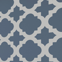 Moroccan Tiles Stencil is NEW from Cutting Edge Stencils!