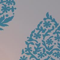 Cutting Edge Stencils NEW stencil pattern Sari Paisley Allover!