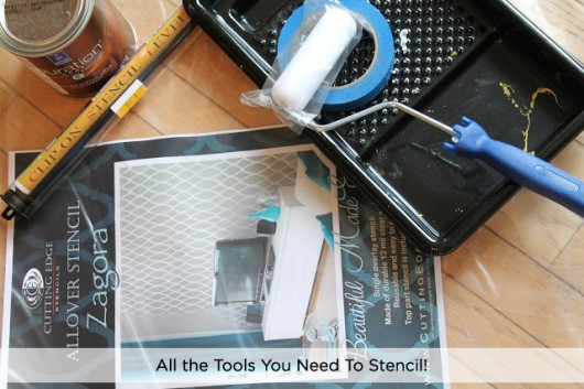 What do you need to Stencil? It's all shown right here!