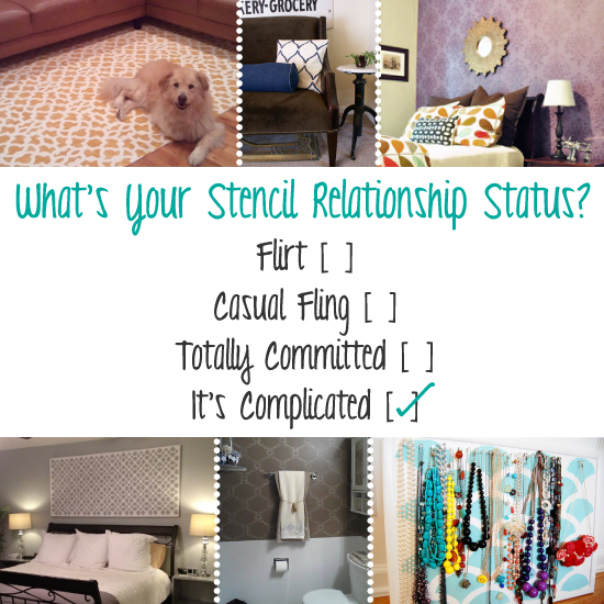 Use stencils to spruce up your home decor! http://www.cuttingedgestencils.com/wall-stencils-stencil-designs.html