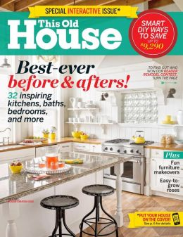Cutting Edge Stencils is featured in the July 2013 issue of This Old House Magazine! http://www.thisoldhouse.com/toh/magazines