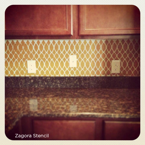 Paint The Zagora Stencil From Cutting Edge Stencils To Get This Gorgeous Look Http