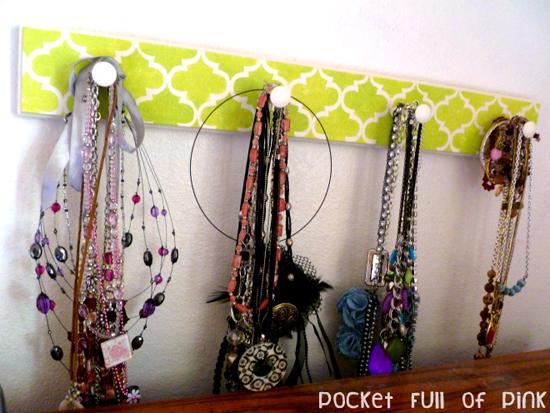 Stencil the casablanca craft stencil on a jewelry holder! http://www.cuttingedgestencils.com/craft-furniture-stencil.html