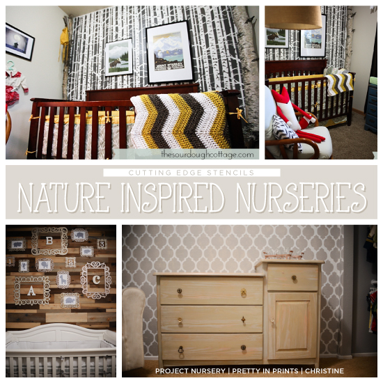 Cutting Edge Stencils Explores Island Adventures: Stenciling A Nature-Inspired Nursery
