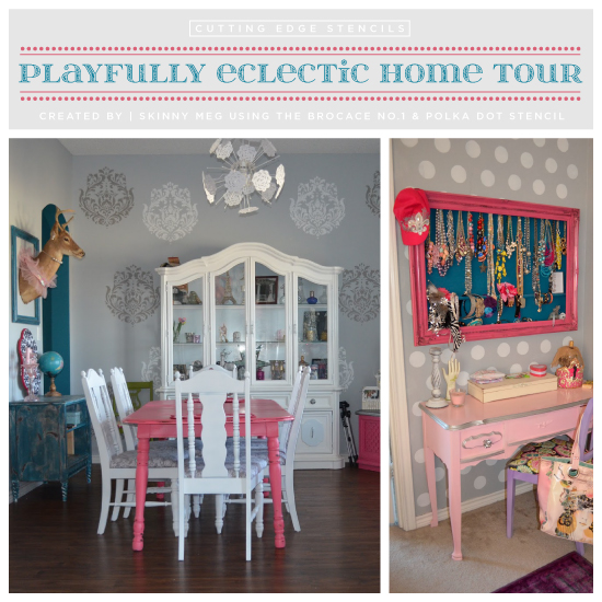 Eclectic Home Tour: Playfully Eclectic Home Tour