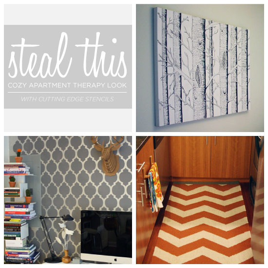 """Steal This Cozy """"Apartment Therapy"""" Look on kitchen themes and colors, kitchen design, kitchen cabinets, orange kitchen color ideas, kitchen header ideas, mexican-themed kitchen ideas, kitchen decorating ideas, yellow kitchen ideas, green kitchen remodeling ideas, galley kitchen color ideas, tuscan themed kitchen ideas, kitchen walls, kitchen theme collections, kitchen photography ideas, kitchen white ideas, green kitchen color ideas, kitchen color inspiration ideas, small kitchen color ideas, red kitchen color ideas, kitchen color combinations,"""