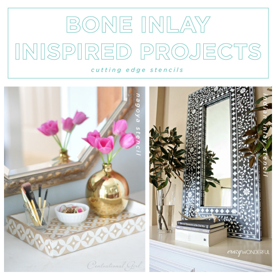 45 Easy Diy Home Decor Crafts: Bone Inlay Inspired Projects