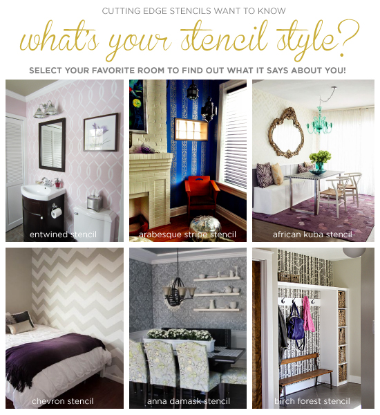 Cutting Edge Stencils Shares A Fun Where You Choose Your Decor Style And It Picks