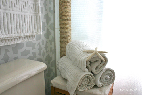Perk Up Your Space with Paint & Stencils! Updated Small Bathroom Designs Html on updated wallpaper designs, updated small kitchens, updated master bedroom designs, updated shower designs, updated laundry room designs, updated office designs,