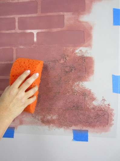 Cutting Edge Stencils shares how to stencil the Brick Allover pattern. http://www.cuttingedgestencils.com/bricks-stencil-allover-pattern-stencils.html
