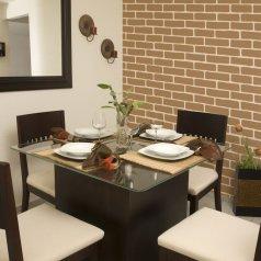 DIY Brick stencil design is perfect for home decor. http://www.cuttingedgestencils.com/bricks-stencil-allover-pattern-stencils.html