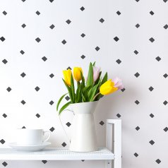 Little Diamonds Allover Stencil from Cutting Edge Stencils. http://www.cuttingedgestencils.com/little-diamonds-pattern-stencil-for-walls.html