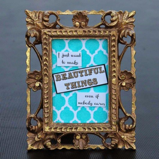 Stenciling a DIY decorative frame is easy with the Casablanca Card Stencil template. http://www.cuttingedgestencils.com/casablanca-card-stencils-template.html