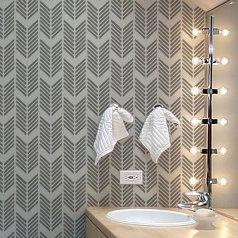 Drifting Arrows Allover Stencil from Cutting Edge Stencils. http://www.cuttingedgestencils.com/drifting-arrows-stencil-pattern-diy-decor.html