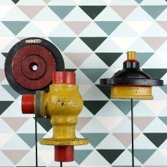 Triad Allover Stencil from Cutting Edge Stencils. http://www.cuttingedgestencils.com/triad-pattern-stencils-for-diy-home-decor.html