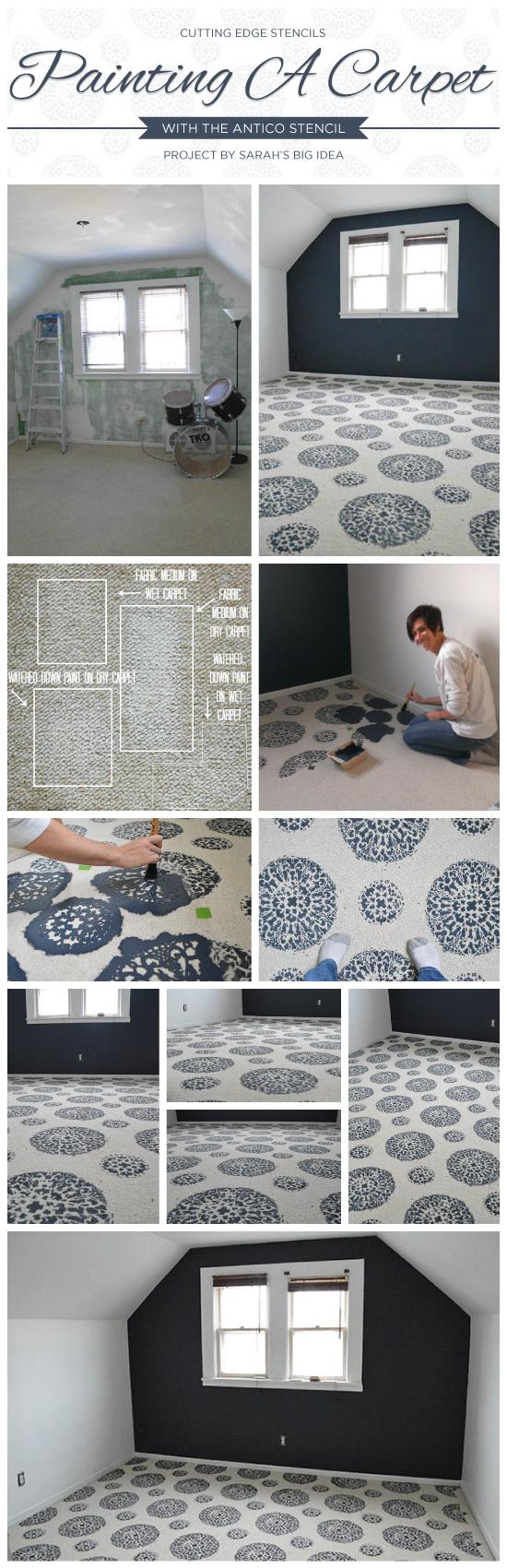 Carpet With The Antico Stencil