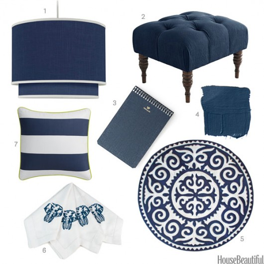 Indigo Home Decor Accessories Spotted On House Beautiful