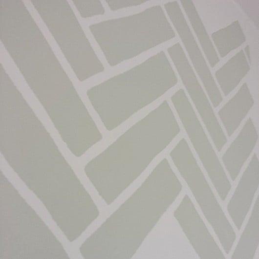 The Herringbone Brick stencil pattern. http://www.cuttingedgestencils.com/herringbone-brick-pattern-stencil-wall-decor.html