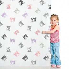 Kitten Wall stencil pattern. http://www.cuttingedgestencils.com/kitten-stencil-cat-face-wall-decor.html