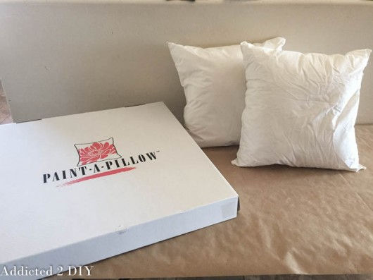 A Paint-A-Pillow kit to make easy DIY accent pillows. http://paintapillow.com/index.php/mermaid-paint-a-pillow-kit.html