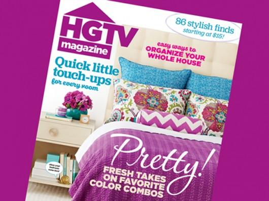 The March Issue of HGTV Magazine features Cutting Edge Stencils. http://www.cuttingedgestencils.com/link-stencil-pattern.html