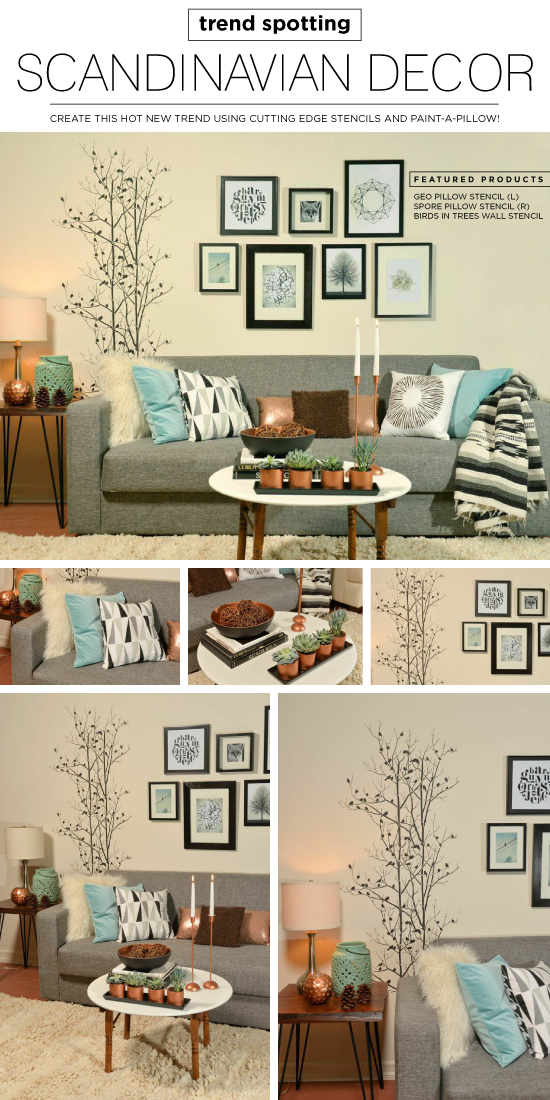 Cutting Edge Stencils Shares DIY Ideas For Introducing Scandinavian Decor  Into Your Home. Http: