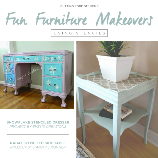 Cutting Edge Stencils Shares How Paint Pattern And Some Decorative S Can Transform An