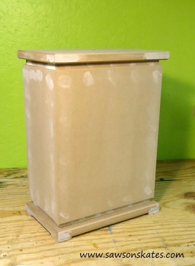 A DIY lamp base before it was stenciled. http://www.cuttingedgestencils.com/craft-stencil-pattern.html